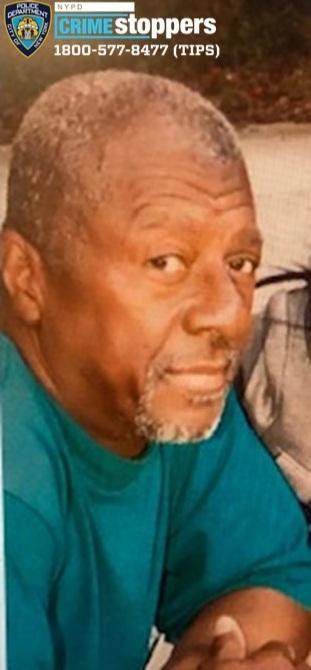 Albert Ingram, 75, Missing