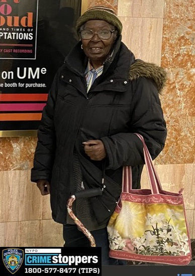 Betty Ward-McIntire, 80, Missing