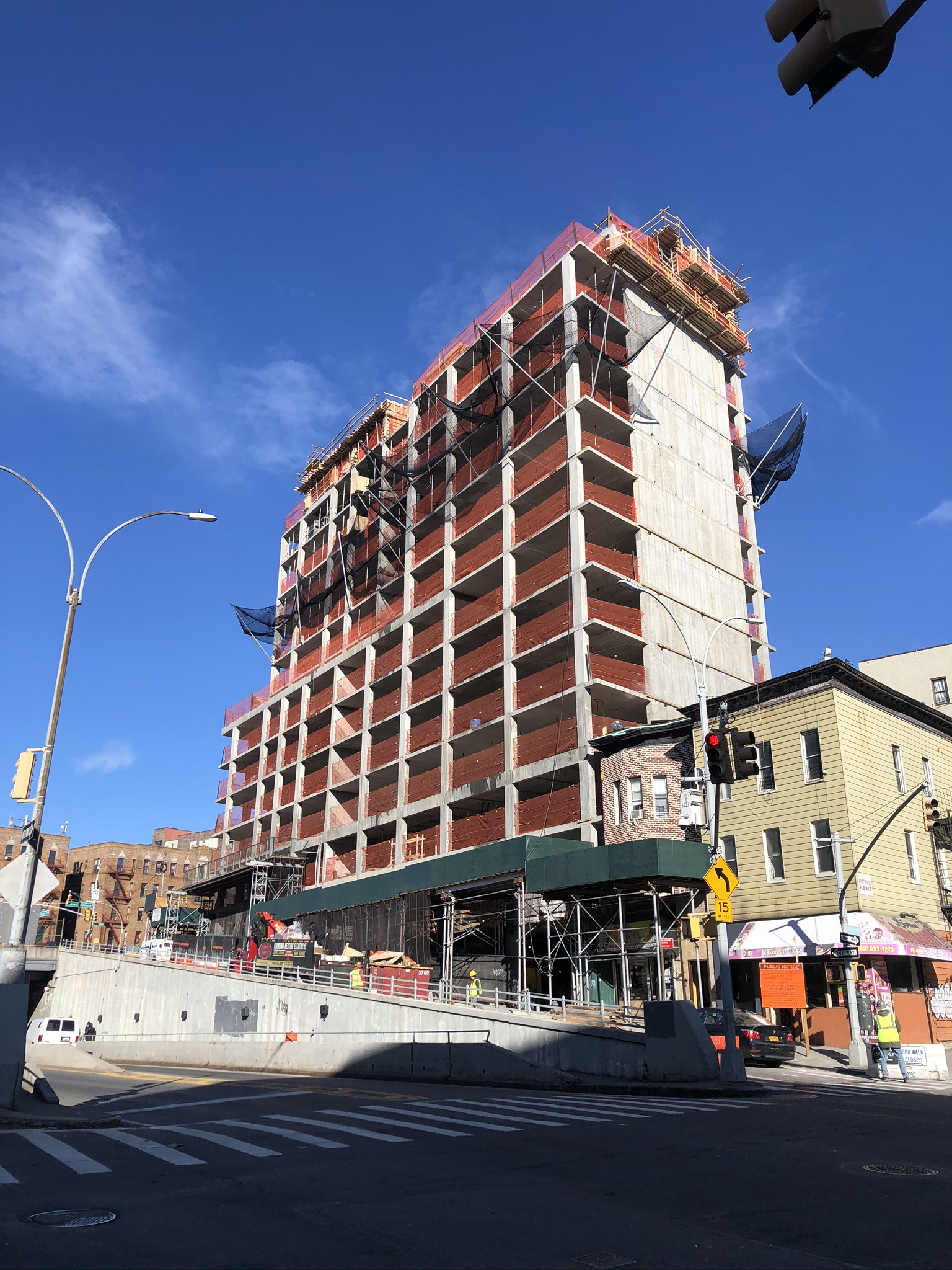 Construction Milestone: Topping Off At 2050 Grand Concourse