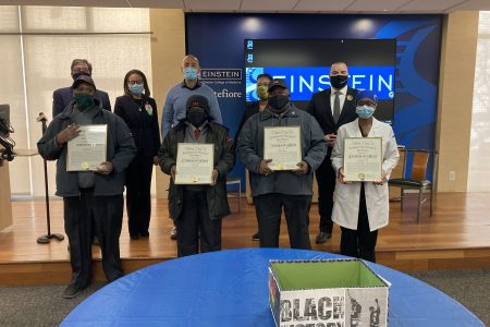 Montefiore Medical Center Essential Workers Honored For Black History Month