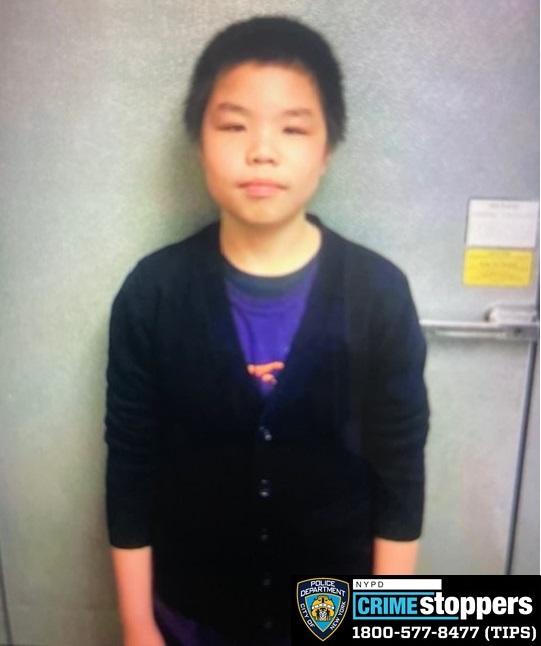Rhyan Zhu, 12, Missing