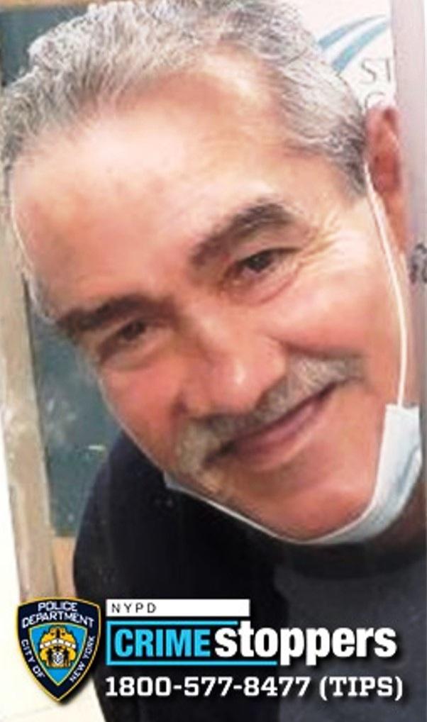 Salvador Padilla, 69, Missing
