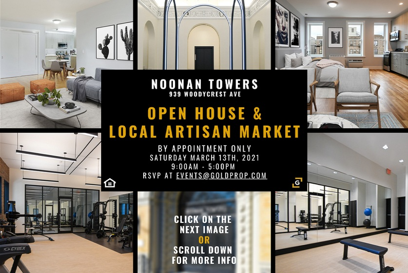 Noonan Towers Open House & Artisan Market Event