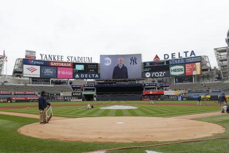 MTA Chairman Foye Appears On Yankee Stadium Jumbotron