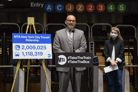 Daily Subway Ridership Tops 2M For The First Time Since The Onset Of The CoViD-19 Pandemic