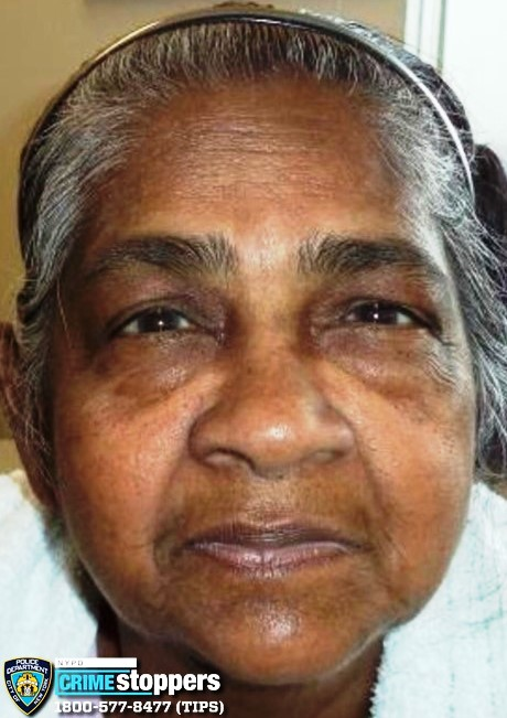 Rajwantie Saran, 69, Missing