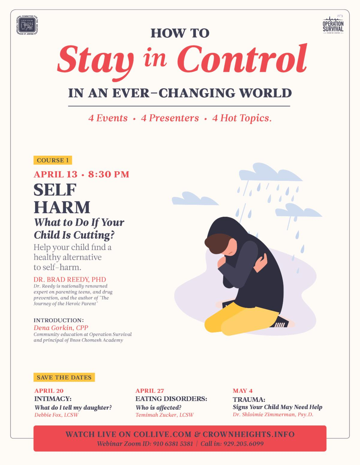 How To Stay In Control In An Ever-Changing World