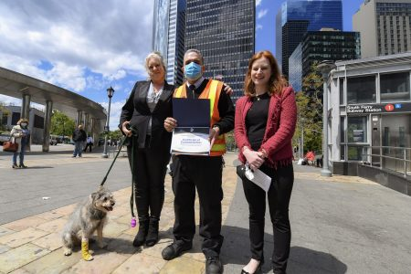 NYC Transit Employee Jose Bonilla Received Commendation For Dog Rescue