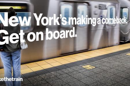 TakeTheTrain, TakeTheBus Campaign Encourages New Yorkers' Return To Mass Transit