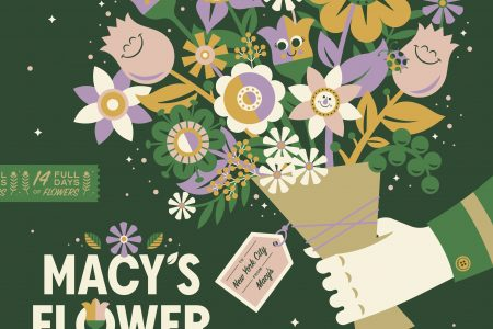 Macy's Flower Show® Presents Give. Love. Bloom.