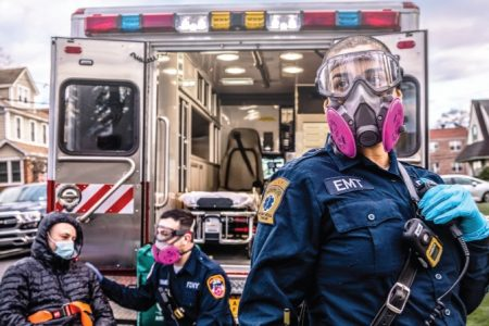 FDNY Celebrates EMS Week 2021 By Unveiling CoViD-19 Themed Poster