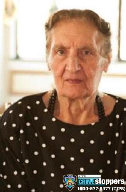 Kyriaki Kolombos, 90, Missing