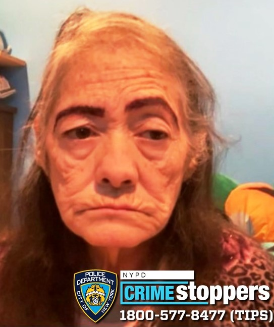 Mirta Monteiro, 79, Missing