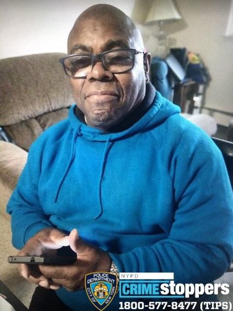 Onnie Williams, 70, Missing