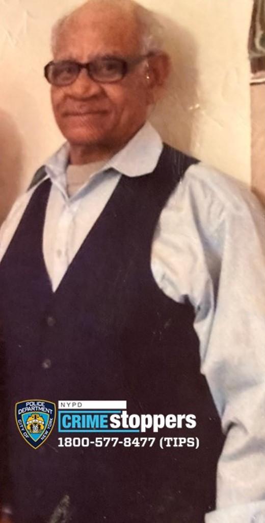 Rafael Evangelista, 78, Missing