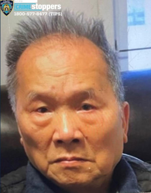 Wenjin Liu, 90, Missing