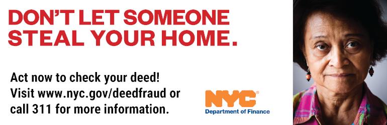 NYC DOF - Deed Fraud