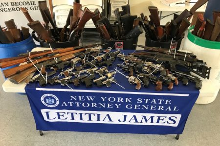 196 Guns Taken Off The Streets At A Community Gun Buyback In Western New York