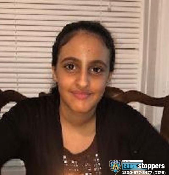 Baraa Hassan, 15, Missing