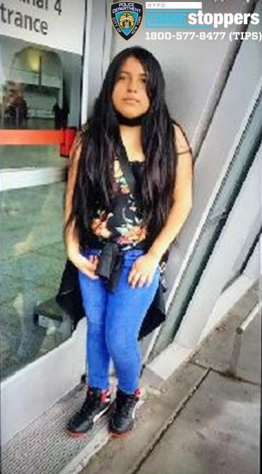 Diana Aguayza, 11, Missing