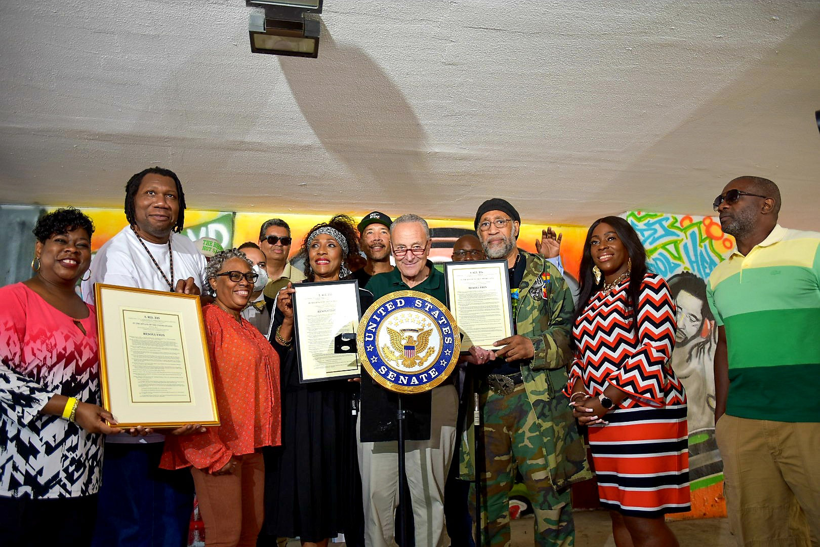 Schumer-Led Resolution Officially Recognizes The Bronx As The Birthplace Of Hip Hop