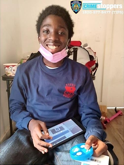 Elijah Pratt-Johnson, 15, Missing