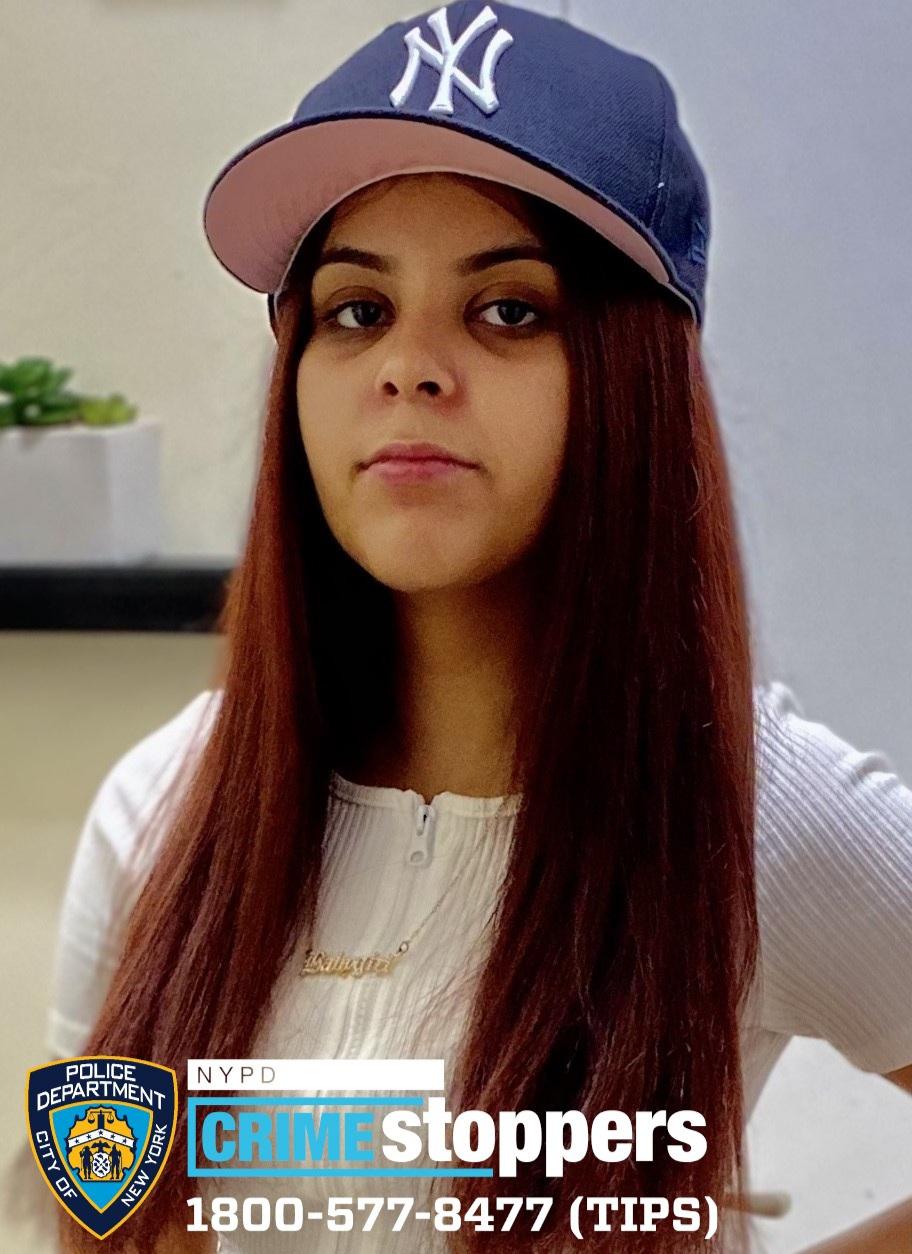 Elonie Ortiz, 14, Missing