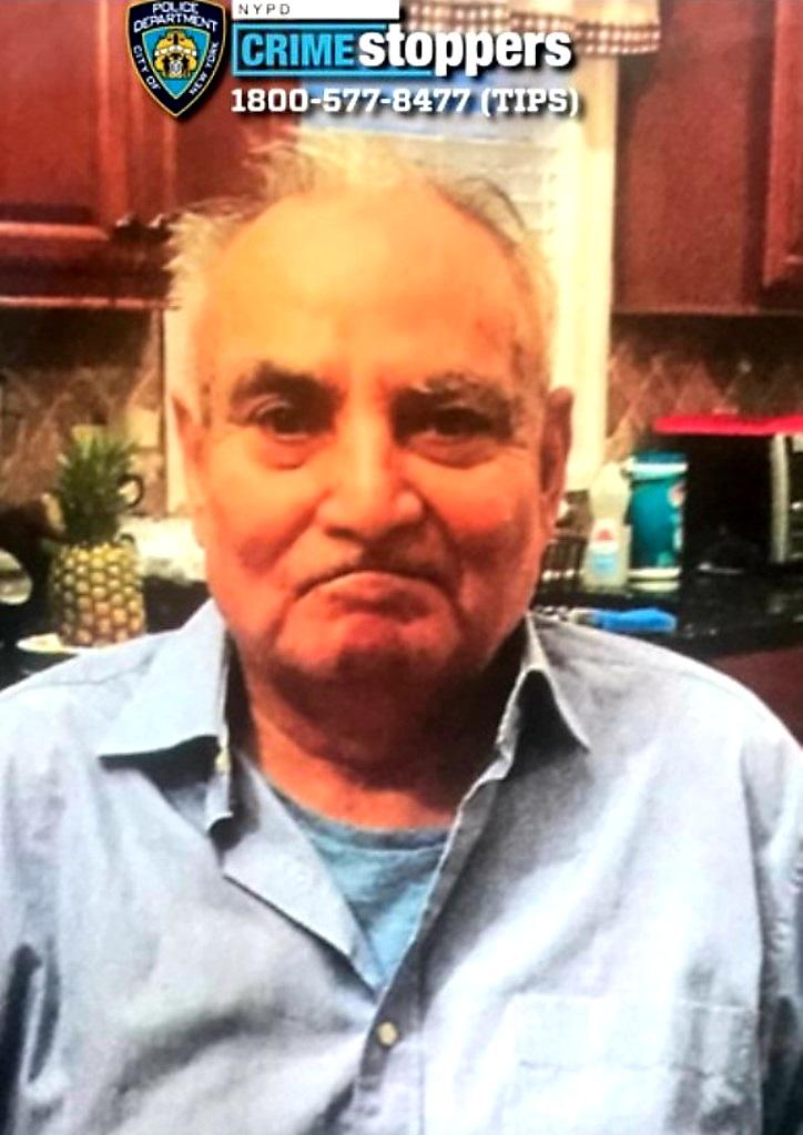 Jaime Herrera, 83, Missing