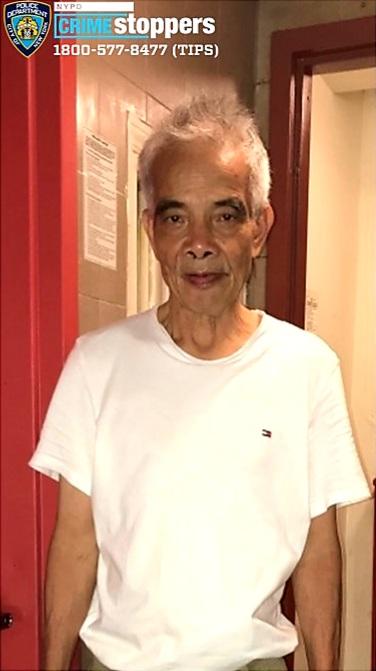 Kai Chu Lee, 73, Missing