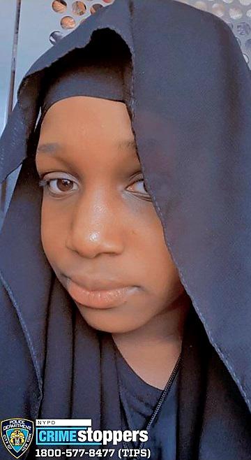 Toura Oumou, 11, Missing