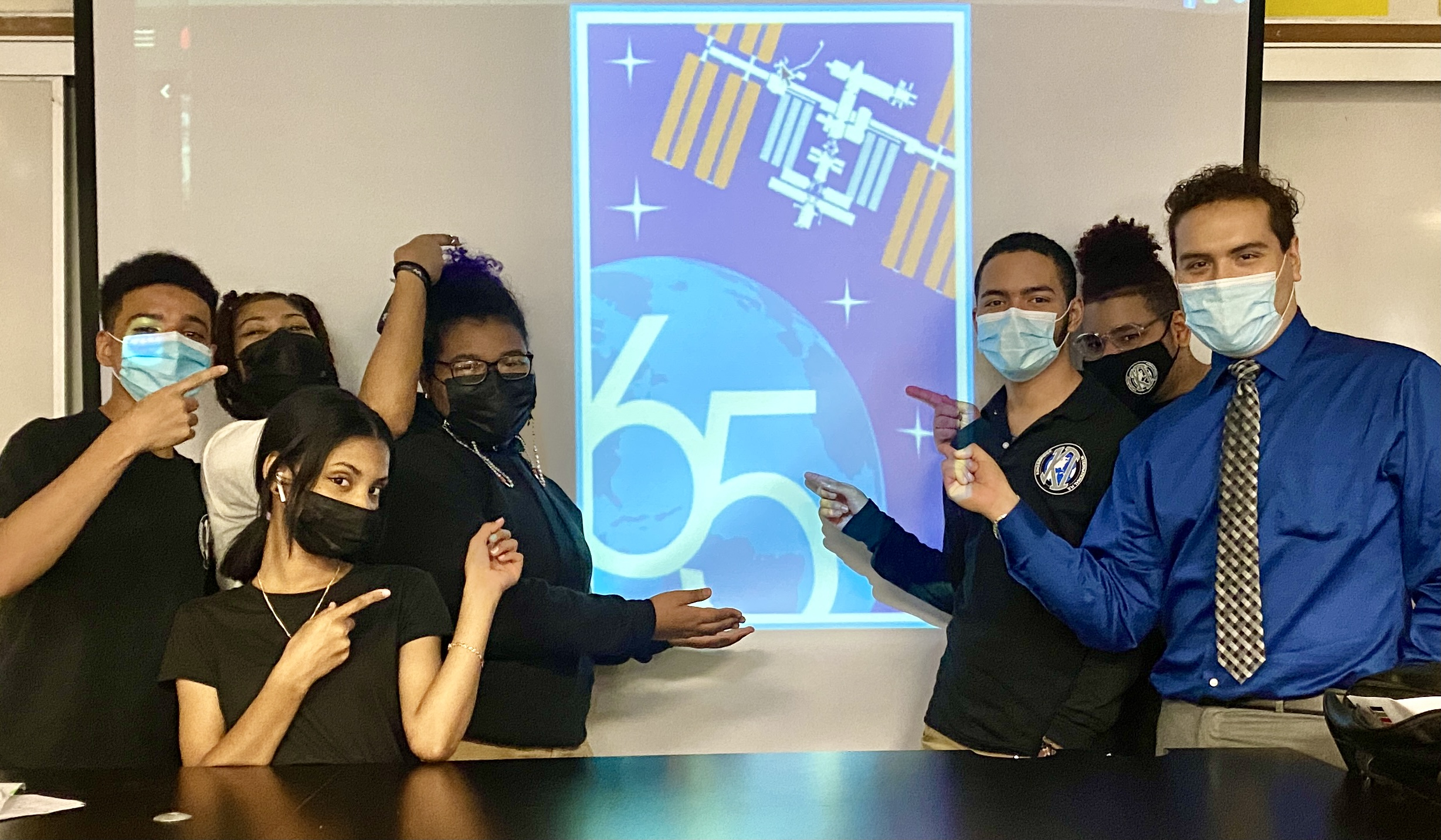 New York & New Jersey Students Interact With NASA Astronauts From The International Space Station